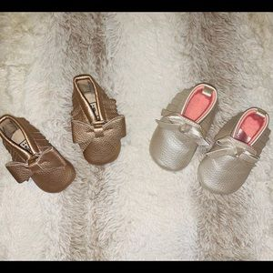 Baby Girl Moccasins Shoes